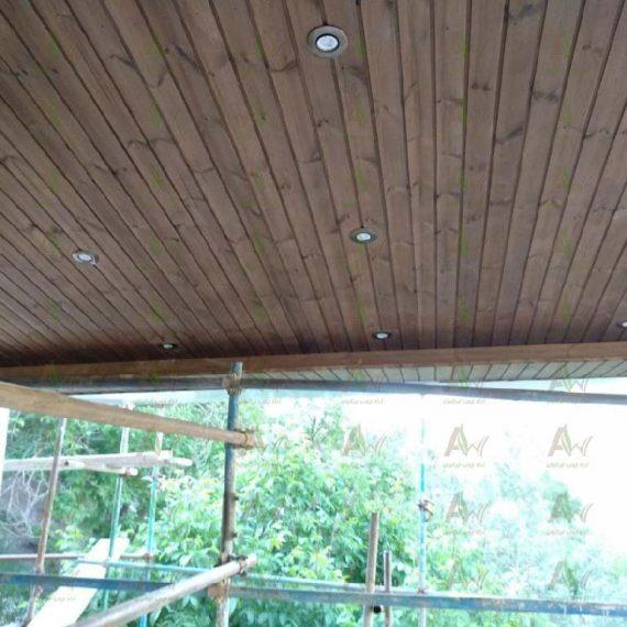 سقف چوب ترمو وود (1)