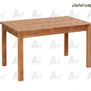 میز-غذاخوری-4-نفره-ترمووود-آراد-چوب-ایرانیان