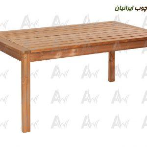 میز-نهار-خوری-6-نفره-چوب-ترمو-ترمووود-آراد-چوب-ایرانیان