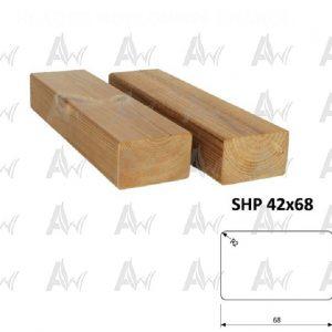 ترمووود SHP 42×68-آراد چوب ایرانیان