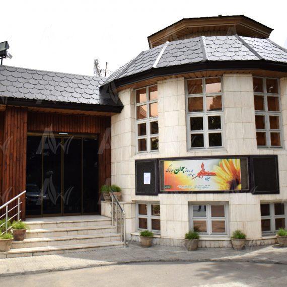 نمای-ترمووود-ساختمان--آراد-چوب-ایرانیان1--ترموود