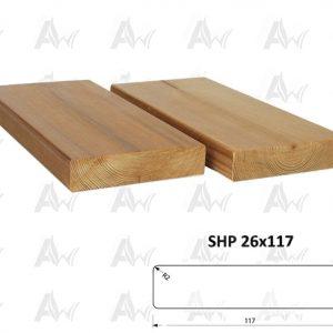 26x117 shp- آراد ترمووود- چوب ایرانیان